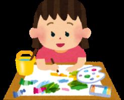 はじき絵とは?制作のコツやポイント 保育園や幼稚園で活かそう
